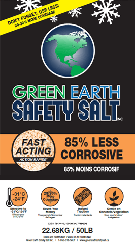 85% Less Corrosive Ice Melter