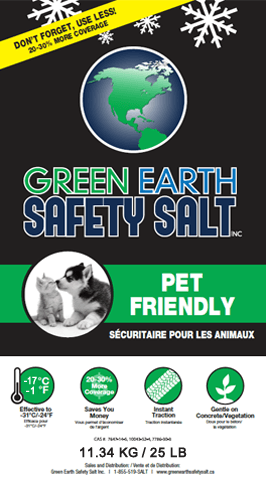 Pet Friendly Ice Melter Salt